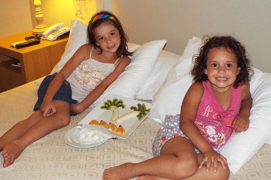 Aruana Eco Praia Hotel: Surpresa no apartamento