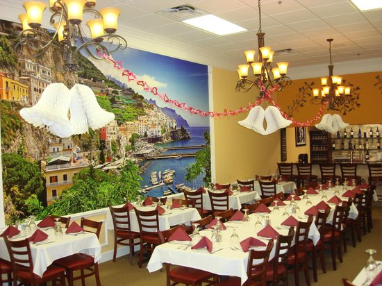 Santioni's Italian Restaurant: Our Banquet/Bar room