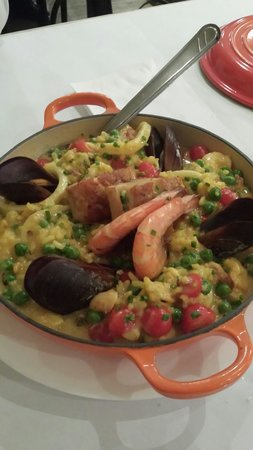 Bar do Victor - Sao Lourenco: Risotto de frutos do mar
