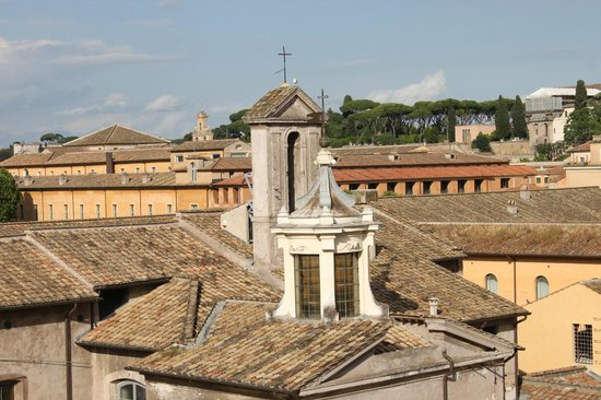 Hotel San Francesco: View from the rooftop bar/patio