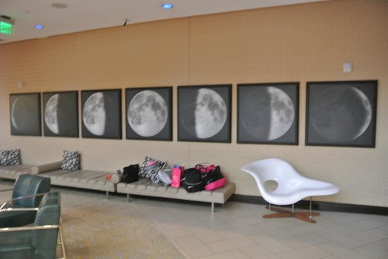 Moonrise Hotel: neat pictures in lobby