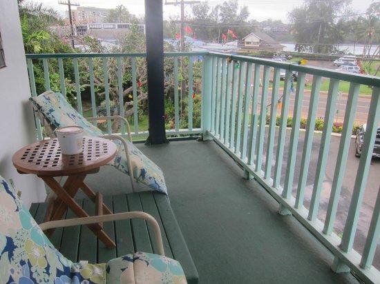 Garden Island Inn: Balcony orchid room 21