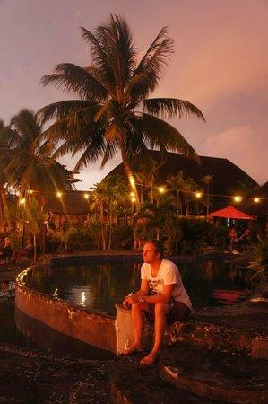 Le Lagoto Resort & Spa: watching sunset