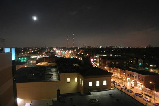 Moonrise Hotel: view from hotel