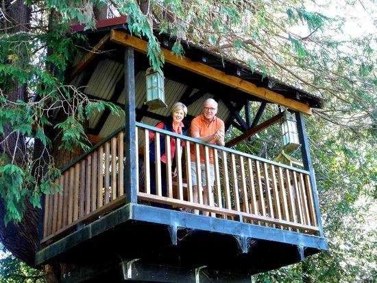 Retiro Park Lodge : The treehouse (Robbert and Pam)