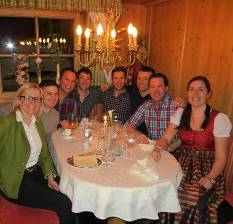 Hotel Gletscherblick: Italian dinner night