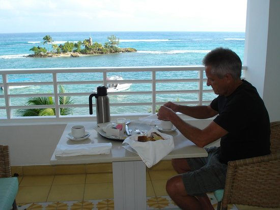 Couples Tower Isle: Room Service with a view