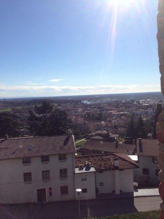 Ristorante San Michele: Vista dalla sala grande del San Michele.