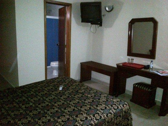 Hotel Montpark : La habitación es confortable