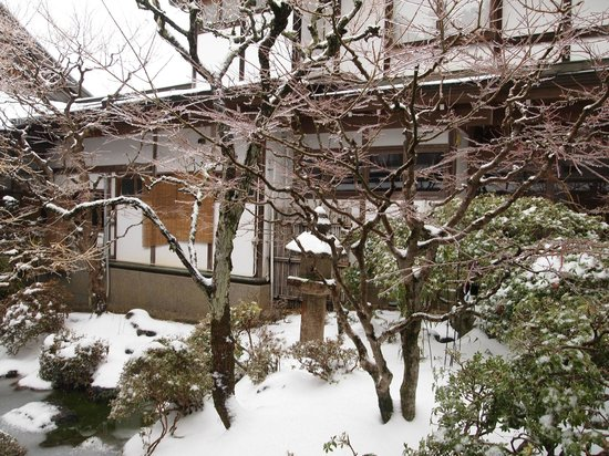 Ekoin Temple, Koyasan : Lovely view outside our room