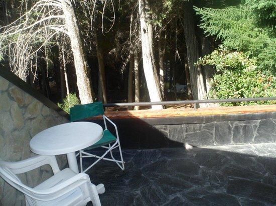 Casa del Bosque Aparts & Suites: Balcon