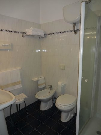 Hotel dei Capitani: Ótimo banheiro