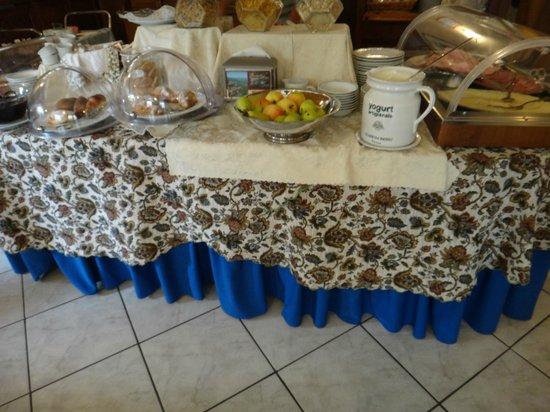 Hotel dei Capitani: Café da manhã muito bom