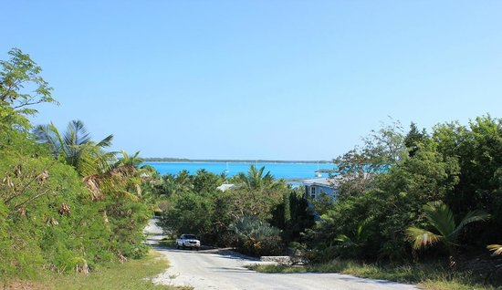 Hideaways at Palm Bay : hillside oceanview room view