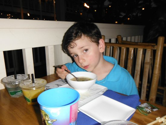 The Dolphin: MISO Soup - mmmmm....
