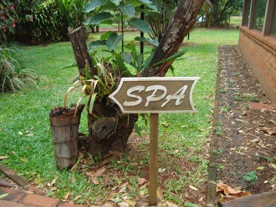 Orquídeas Hotel & Cabañas: spa