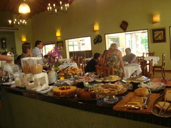 Orquídeas Hotel & Cabañas: desayuno