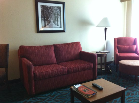 Hampton Inn & Suites Chicago North Shore/Skokie: living room