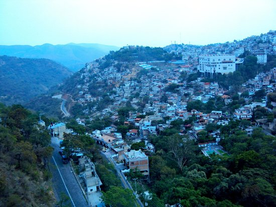 Hotel Montetaxco: Vista panoramica
