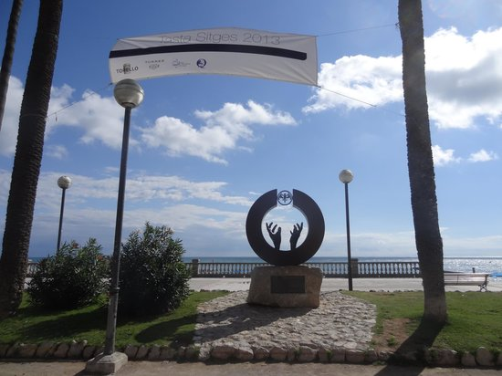 Passeig Maritim : Sitges