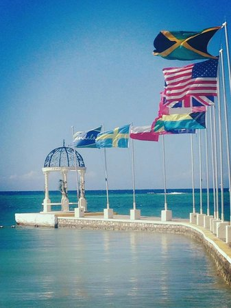 "Sandals Montego Bay: ""Out of Many, One people"" ...love these"