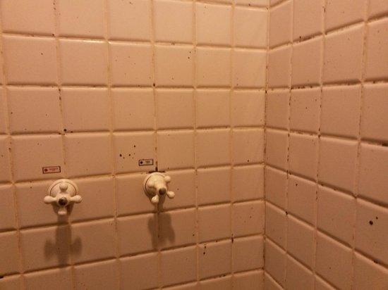 e.Suites Lake Side Brasília: Mofo por toda a parede do banheiro