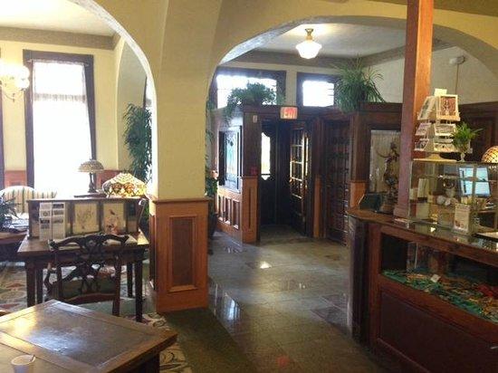 Hotel Eklund: The lobby