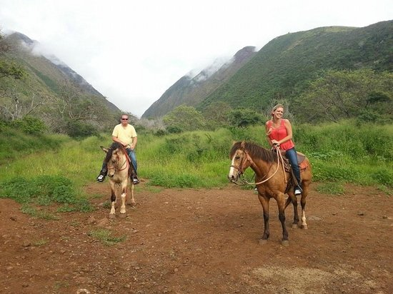 Lahaina Stables: Half way point