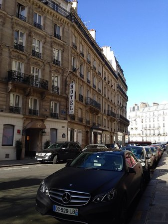 Hôtel Berne Opéra : Hôtel