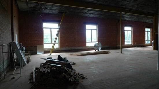 Buchanan Lofts : what the lofts space looked like before construction