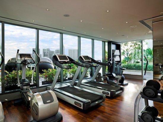 The Fullerton Bay Hotel Singapore: Gym