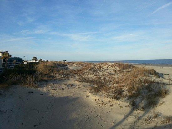Tybee Island Beach: the beach