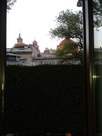 Hotel Boutique 1850 : Vista de la ventana de la Master Suite María