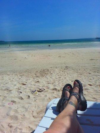 Beach Placid Resort, Restaurant and Bar: Ahhhhh . . .