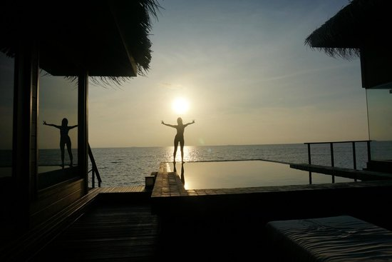 Dhevanafushi Maldives Luxury Resort Managed by AccorHotels: sunrise