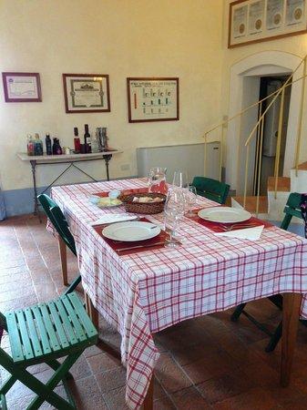 Castello Sonnino : dining area