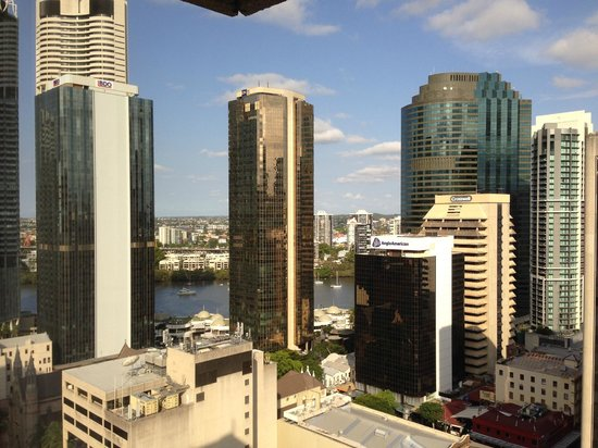 Hilton Brisbane: View from room 2320