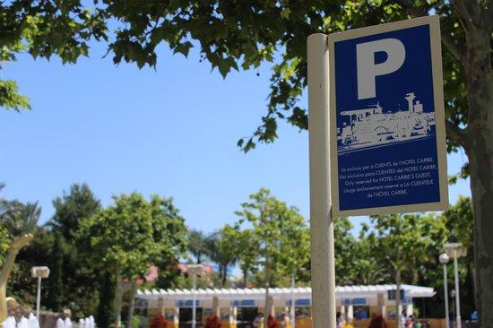 PortAventura Hotel Caribe : Parada tren parque