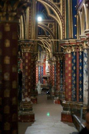 Sainte-Chapelle : Нижняя капелла