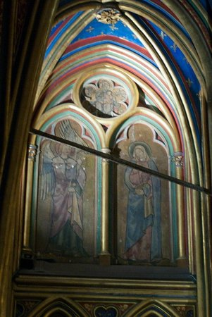 Sainte-Chapelle : Сама старая из сохранившихся фресок Парижа