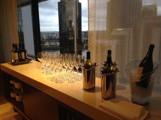 Hilton Brisbane: Executive Lounge