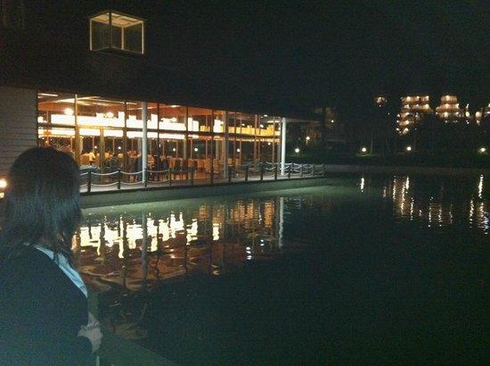 PortAventura Hotel Caribe: Vista comedor