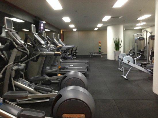 Hilton Brisbane: Gymnasium