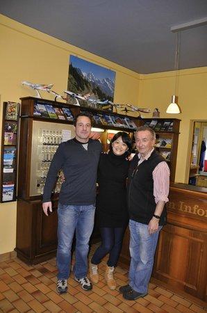 Hotel Roessli: Lovely Owners