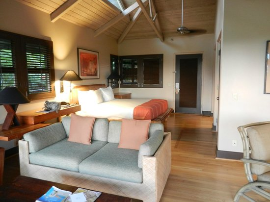 Travaasa Hana, Maui: cottage interior