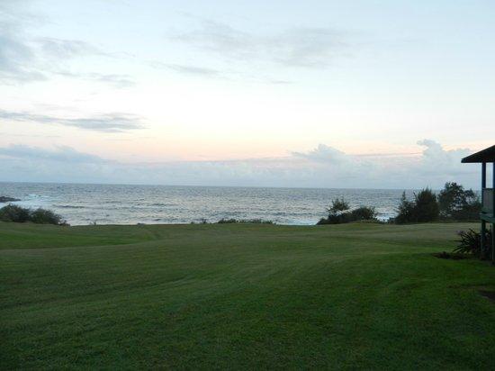Travaasa Hana, Maui: view from the central lawn
