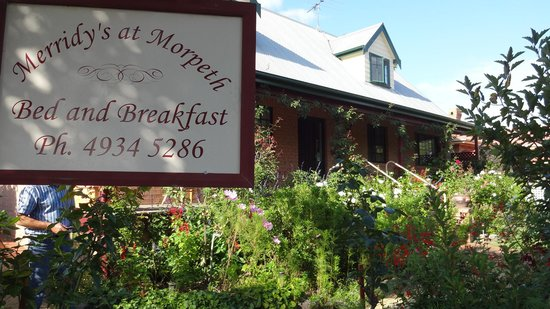 Merridy's at Morpeth Bed and Breakfast: Merridy's @ Morpeth