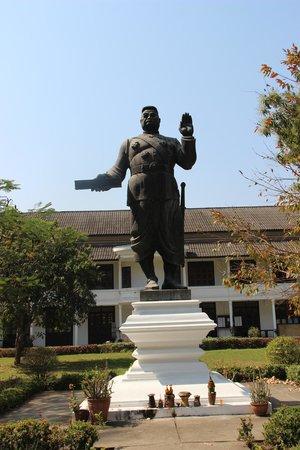 Royal Palace Museum: Former king Sisavan Vong