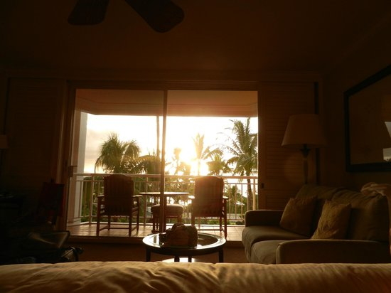Grand Wailea - A Waldorf Astoria Resort: view we woke up to