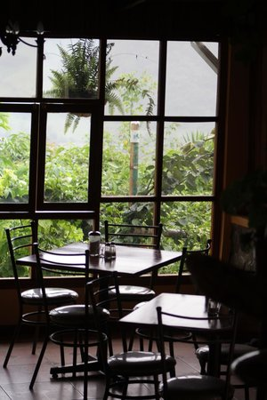Quinde Huayco: view from the restaurant